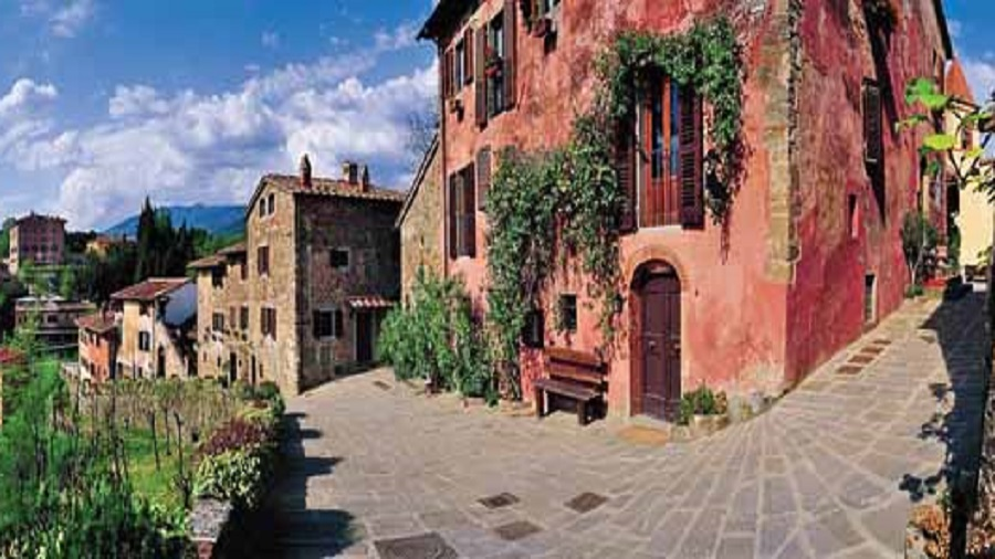 The Il Borro medieval village