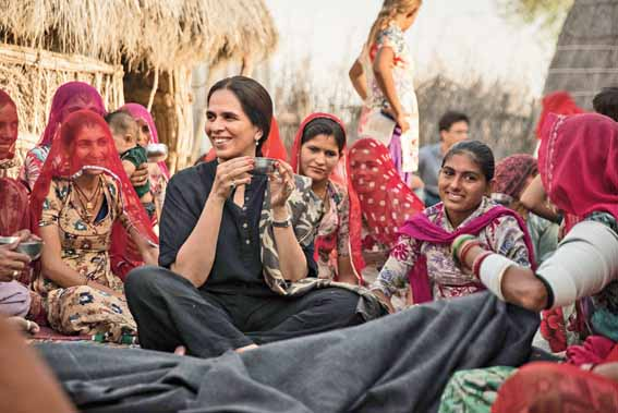 The Anita Dongre Foundation has trained 200 formerly-unskilled women in rural Maharashtra and ensured employment in their villages From AND to Anita Dongre and western designs in all sizes to gota-patti and bridal lehngas with pockets, the House of Anita Dongre caters to the gamut of sartorial demand