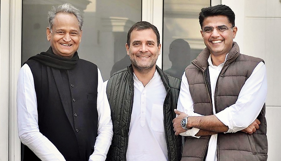 A party panel to look into Sachin Pilot's grievances is a key takeaway from the talks, say sources, adding that the Gandhis agreed to address issues regarding Rajasthan, including Ashok Gehlot's style of functioning