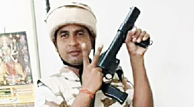 Jyotrimaya in uniform