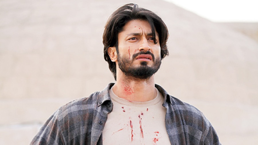 Vidyut Jammwal as Samir in Khuda Haafiz, streaming on Disney+Hotstar from August 14
