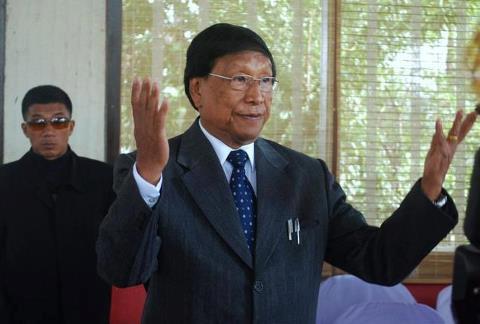 National Socialist Council of Nagalim (Isak-Muivah) general secretary Th. Muivah
