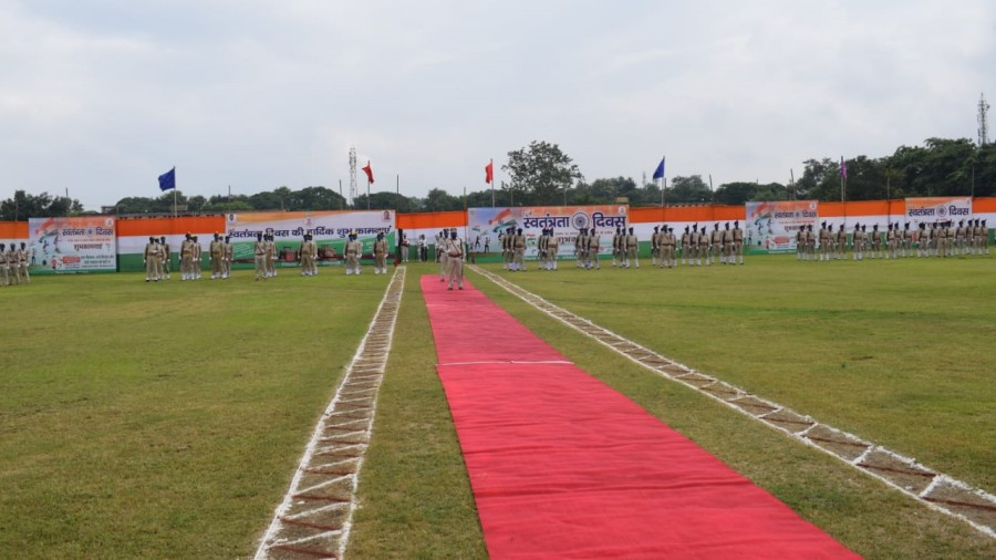 The police line ground at Sector-12 in Bokaro on Saturday