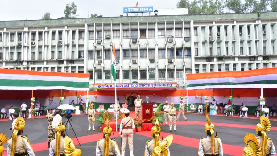 Independence Day celebrations at Bokaro Steel Plant