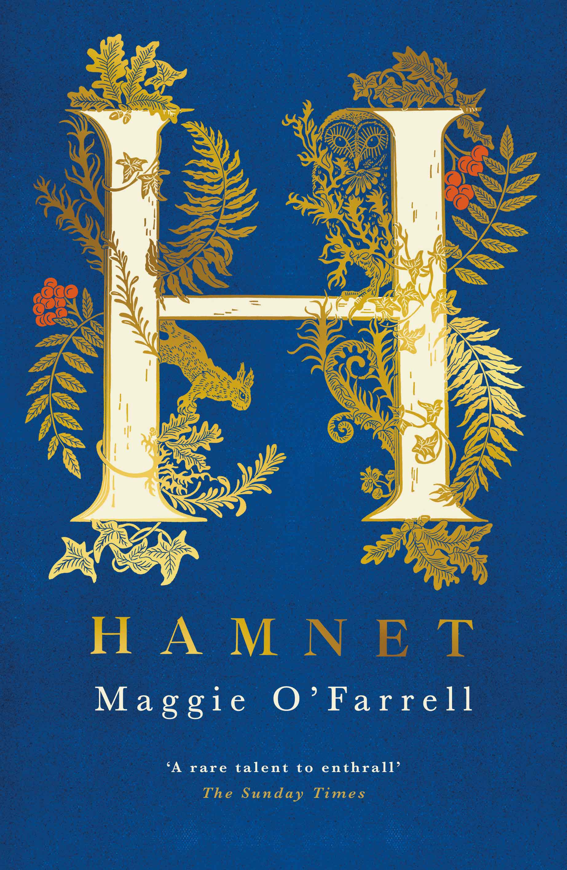 Hamnet by Maggie O'Farrell, Tinder, £20