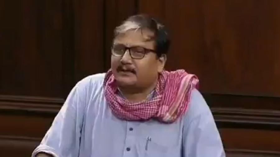 Rajya Sabha MP Manoj Jha.