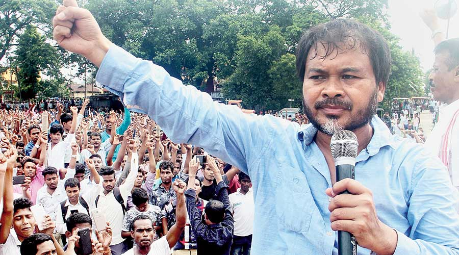 KMSS has also announced a political party with its chief adviser Akhil Gogoi as the chief ministerial face
