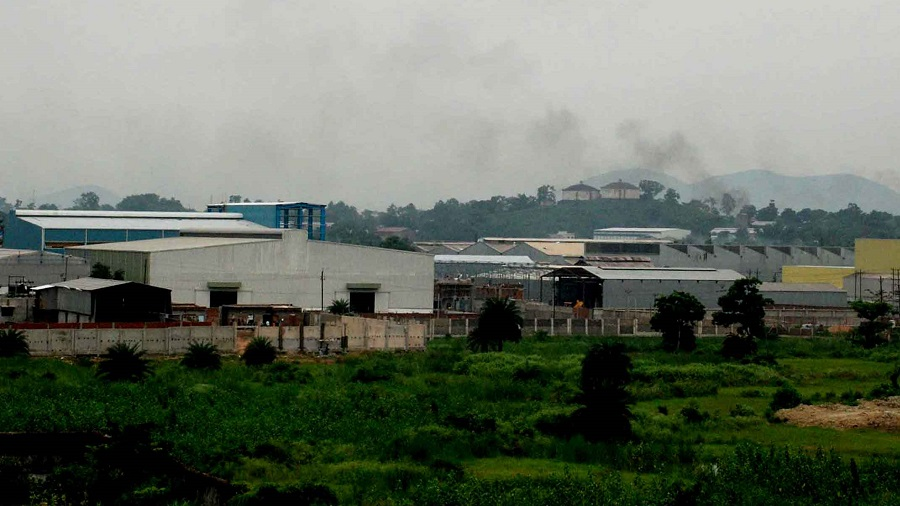 The Adityapur Industrial Area in Seraikela Kharsawan district