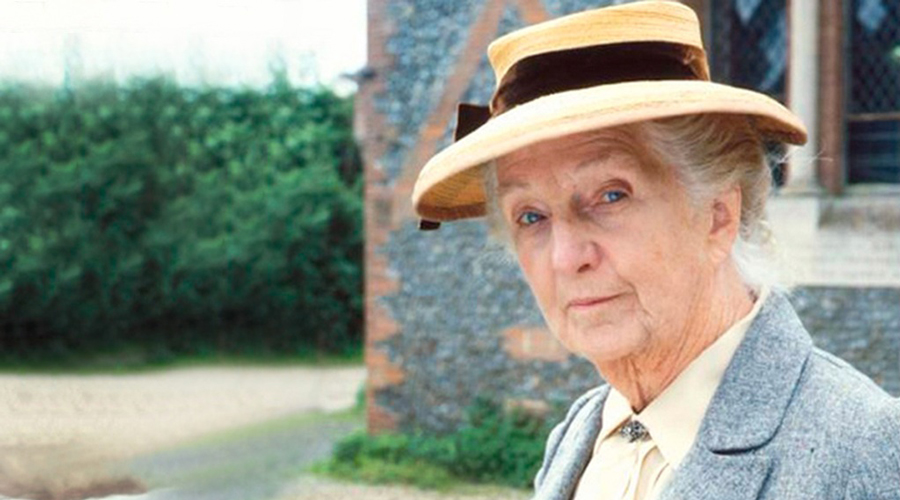 Joan Hickson as Miss Marple in the Amazon Prime TV series.