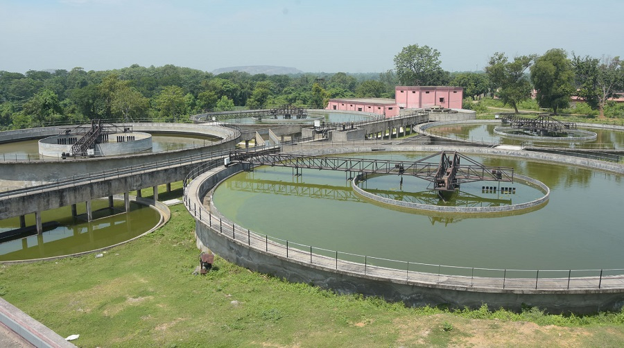 The L&T Water Treatment Plant at Jamadoba in Dhanbad.