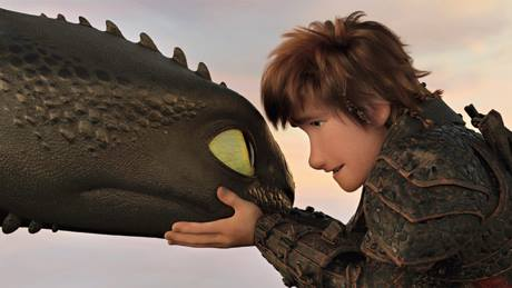 A moment from How to Train Your Dragon: The Hidden World, premiering on Sony PIX on Sunday