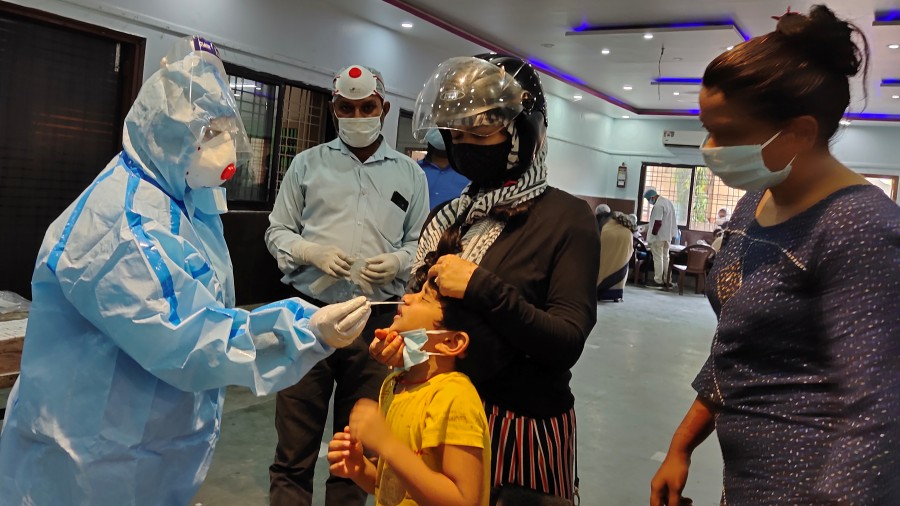 Health workers across Jharkhand tested swab samples of 55,761 people on Wednesday and 54,143 of came negative.