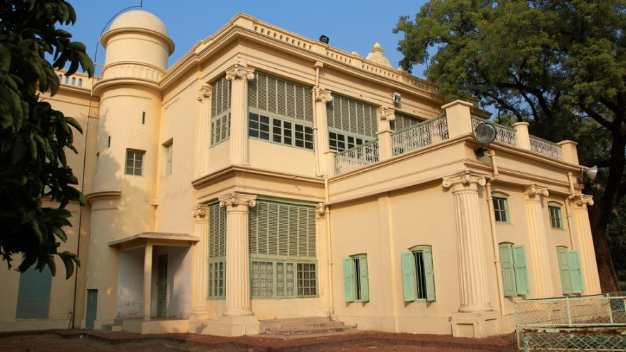 """Santiniketan Griha on the Visva-Bharati campus. The central varsity said the Visva-Bharati and Santiniketan Trust were """"not opposed"""" to Pous Mela and its place in the Bengali sentiment."""