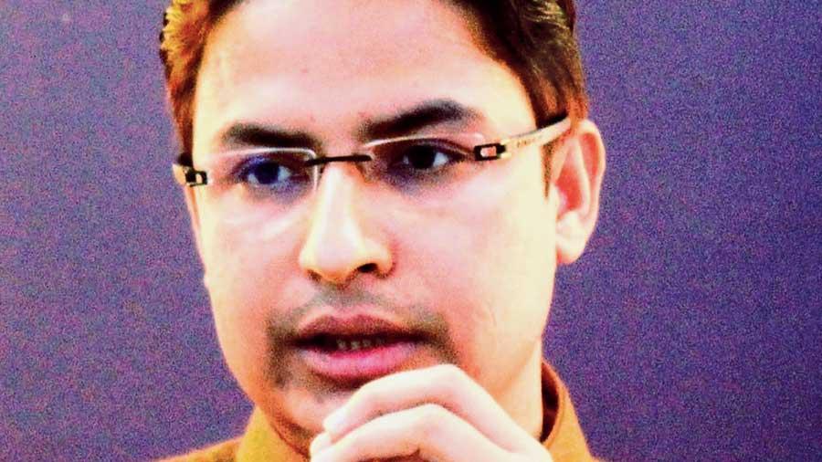 BJP MP of Darjeeling Raju Bista