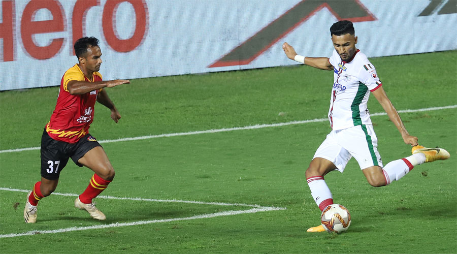Manvir Singh's 85th-minute goal seals three points for ATKMB against SCEB