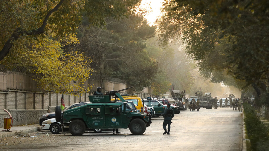Gunmen storm Kabul University.