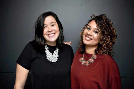 Naomi Hirabayashi and Marah Lidey, co-founders of Shine