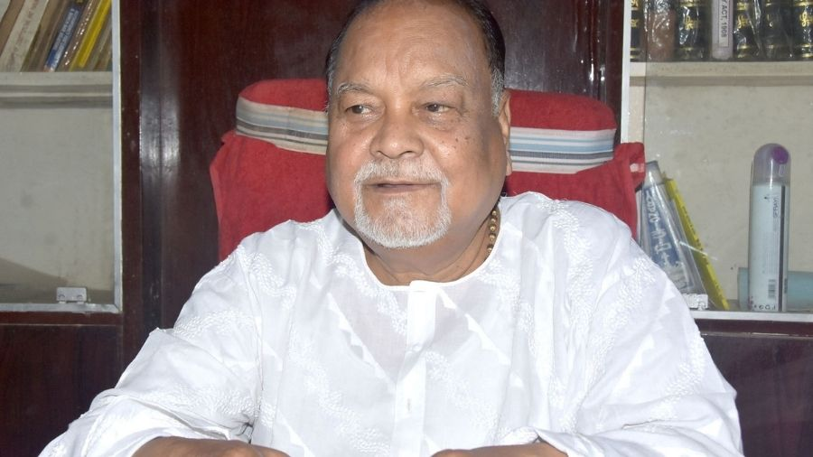 Raj Kishore Mahato died on Wednesday at the age of 75.