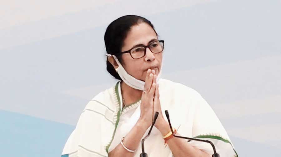 Mamata at Nabanna on Thursday