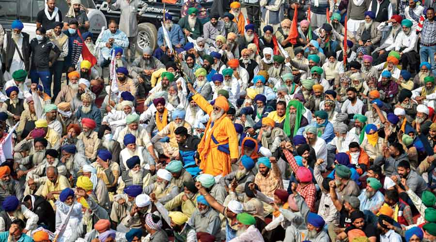 Why the farmers' protest is like no other - Telegraph India