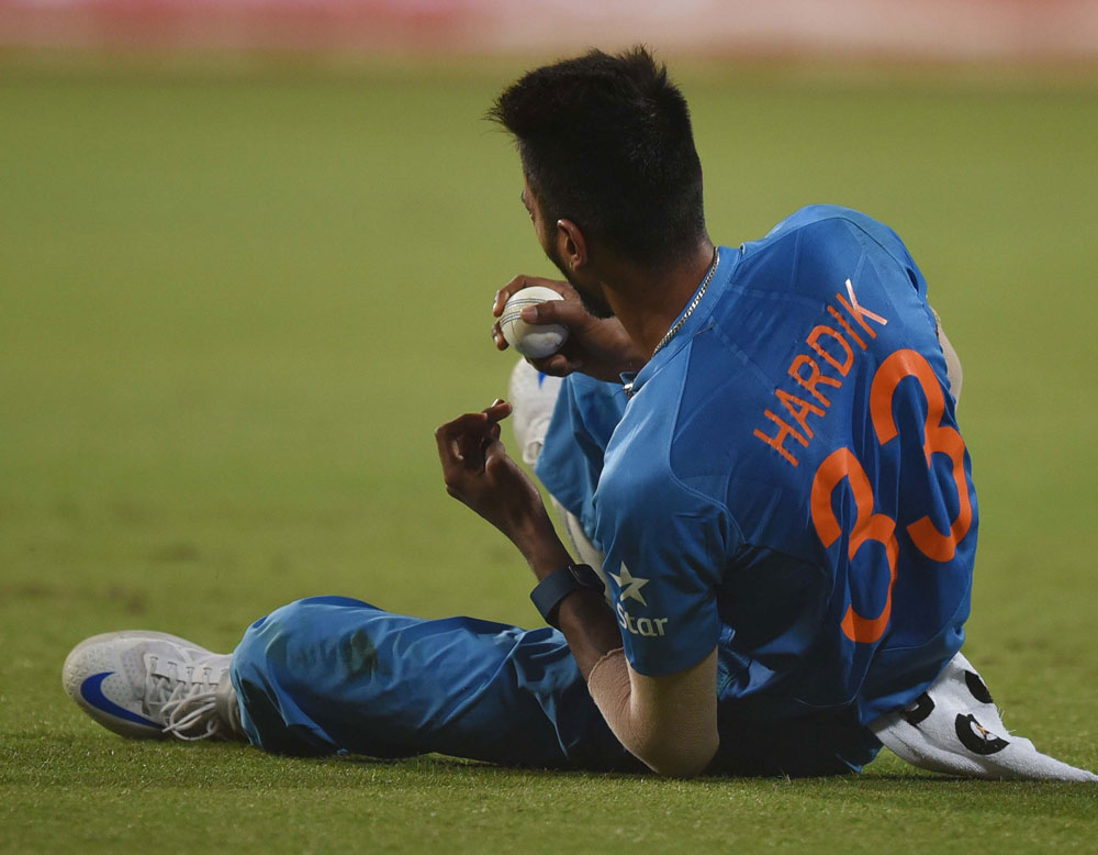 Hardik has surprised many to finish as India's top run-getter in the ODI series against Australia.