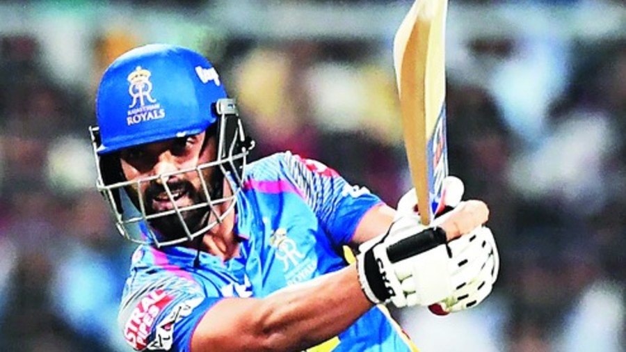 Rahane then added 69 with Kuldeep Yadav (15) to keep the India A innings afloat
