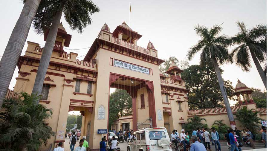 A few girls too stayed back in their hostel, where a small gate was kept open.  Nearly 50 women students have joined the protest on the lawns of VC Rakesh Bhatnagar's quarters. The students planned to spend Sunday night in the open too, amid the cold.