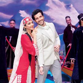 Kiara Advani with Aditya Seal in Indoo Ki Jawani, releasing in cinemas this Friday