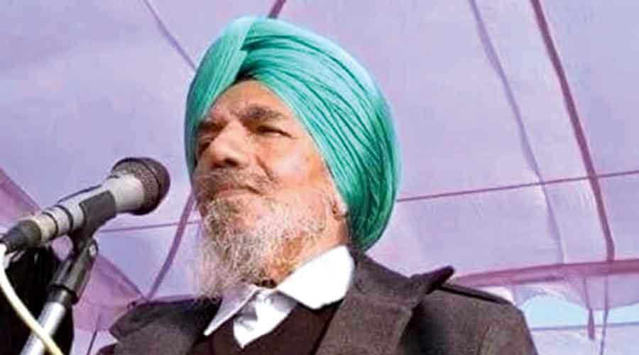 Bharatiya Kisan Union Ekta (Ugrahan) chief Joginder Singh Ugrahan, who has been leading farmers' protest, tested positive for coronavirus.