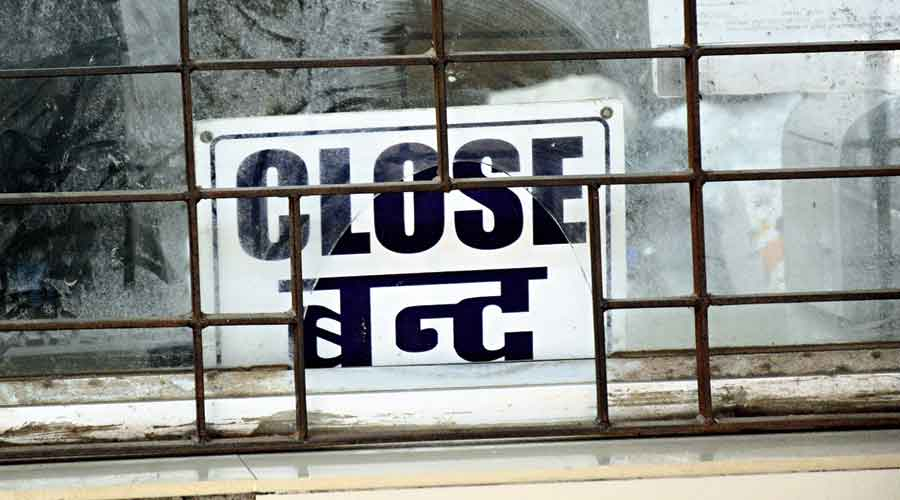 The closed OPD at MGM Hospital on Friday
