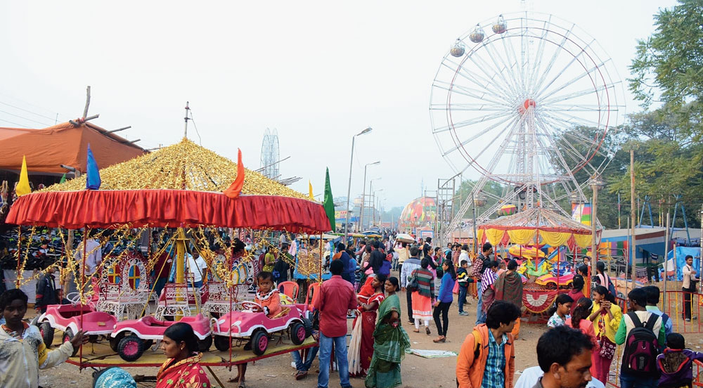 Pous Mela started in 1894 and is a key event in Bengal's calendar