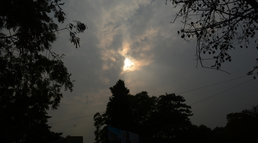 Cloud cover over Jamshedpur on Tuesday.