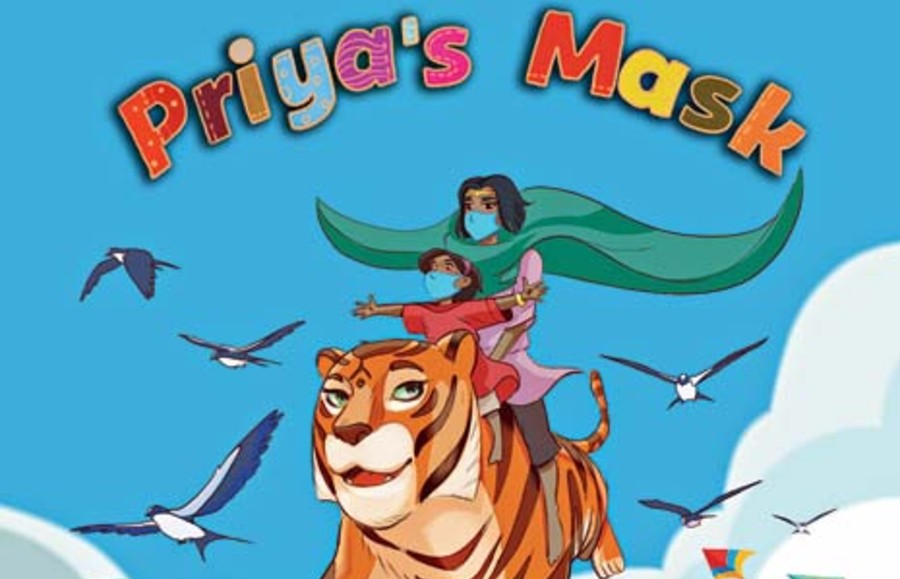 Priya's Mask highlights the global fight against Covid-19 through the heroics of an animated female superhero