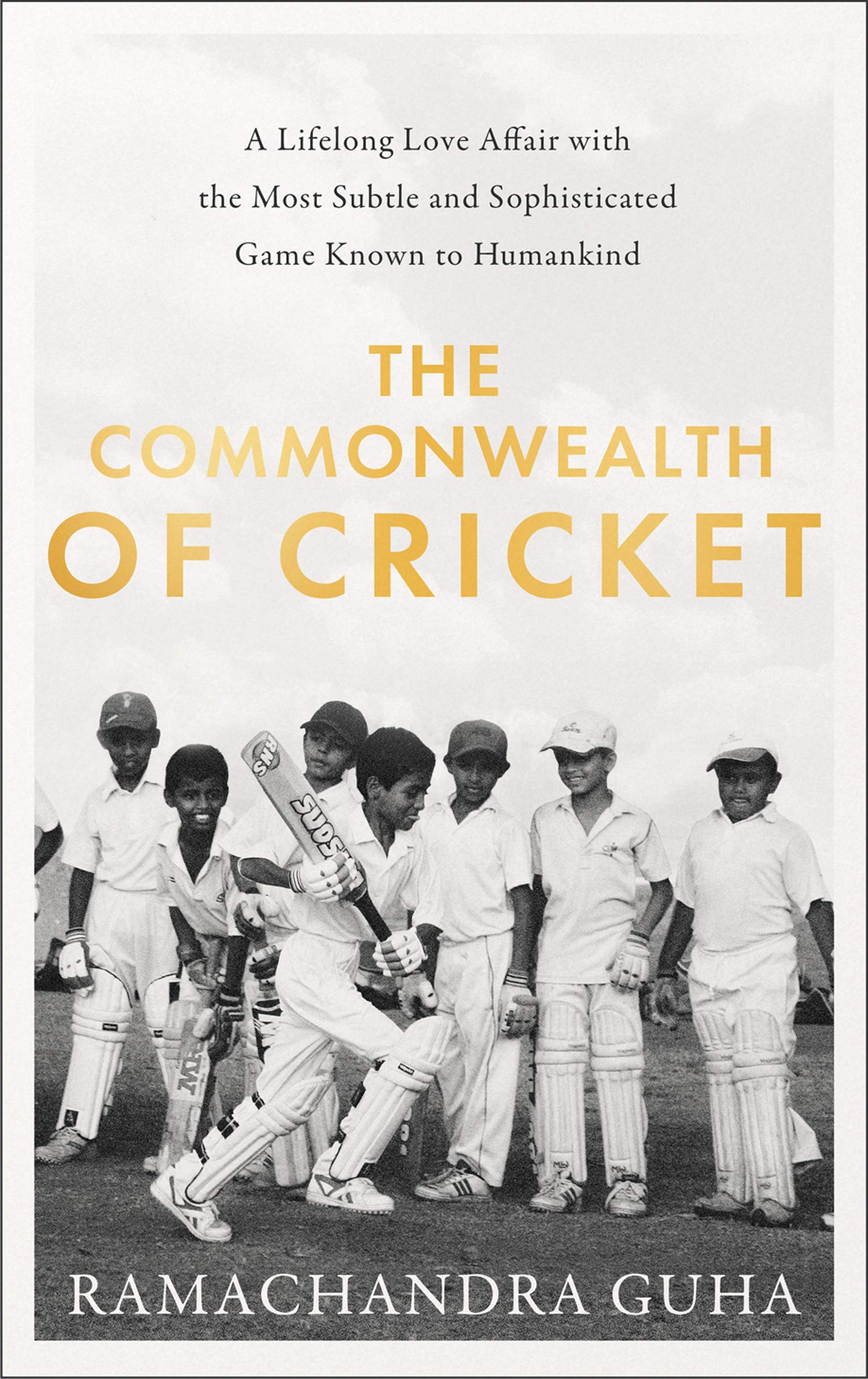 The cover of The Commonwealth of Cricket