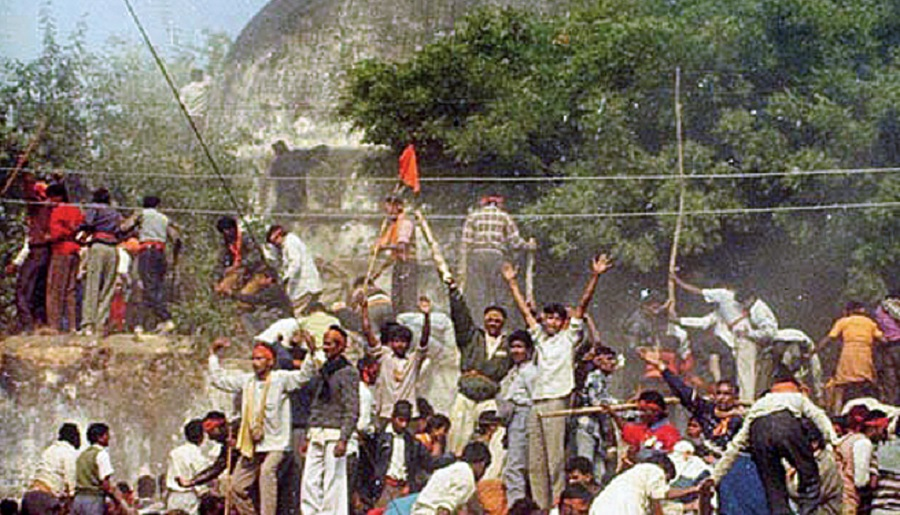 The new mosque will be built to replace Babri Masjid, which was demolished in 1992.