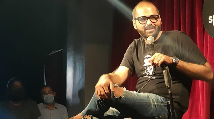 Stand-up comic artist Kunal Kamra