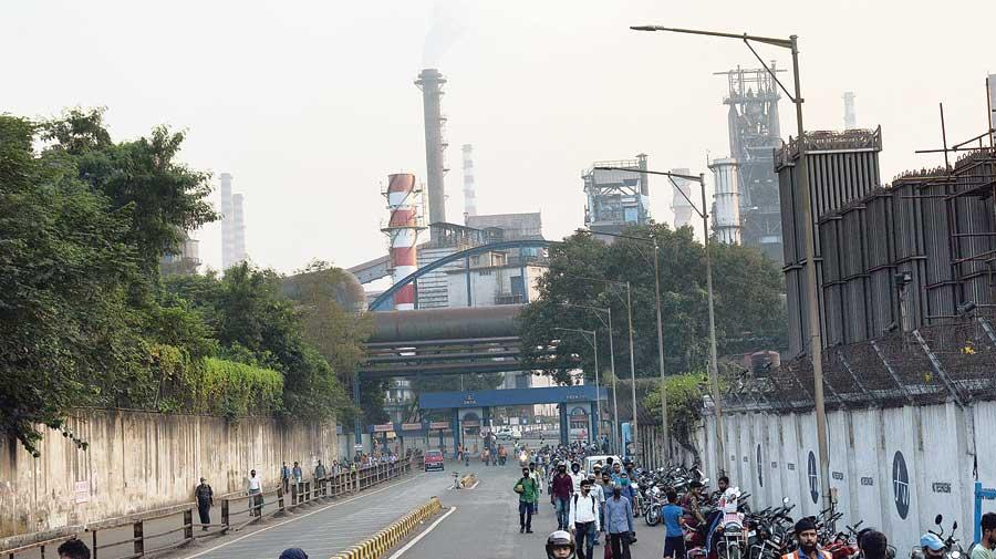 The Tata Steel plant in Jamshedpur.