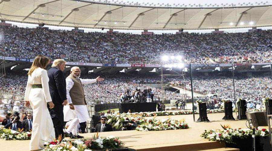 Sardar Patel Stadium in Ahmedabad