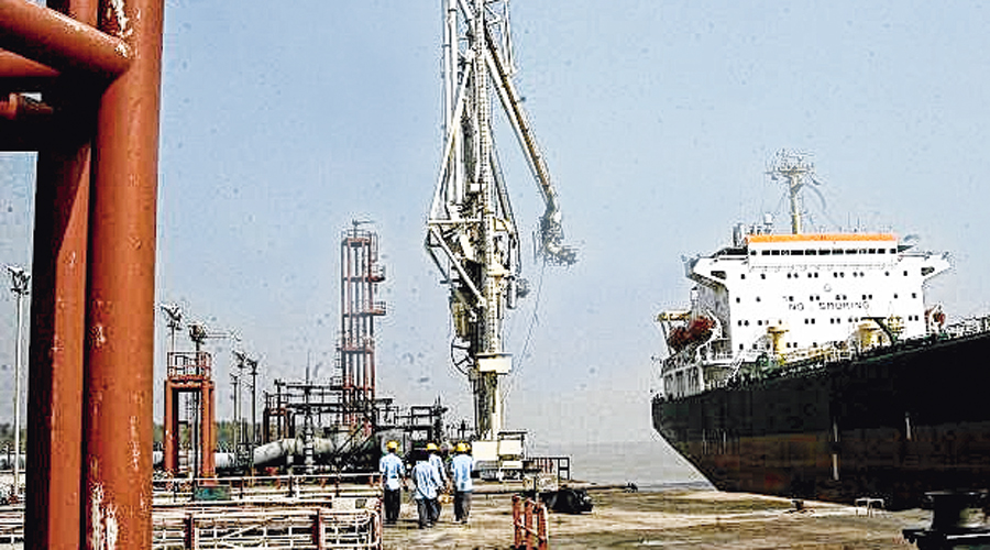 A new terminal will also come up at Budge Budge near Calcutta.
