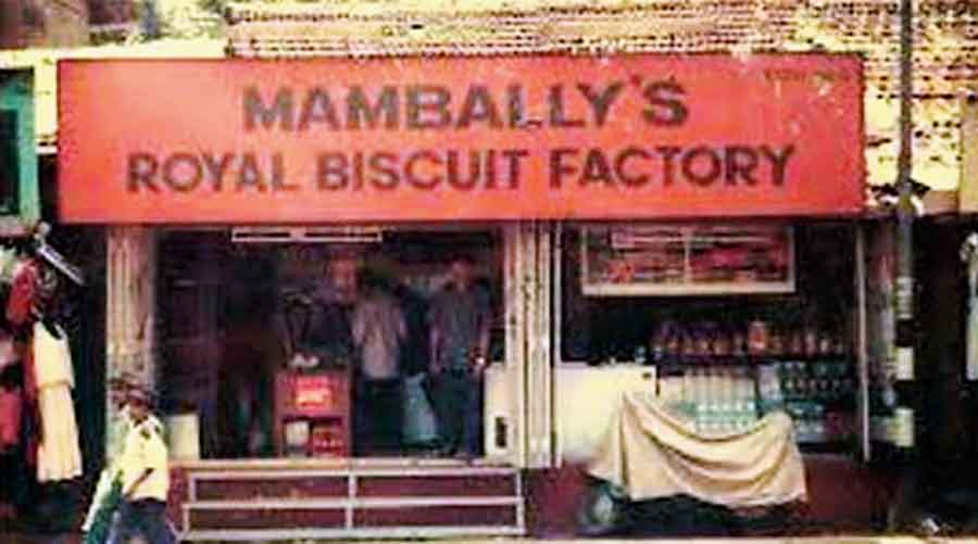 Mambally's Royal Biscuit Factory in Thalassery, which was established in 1880