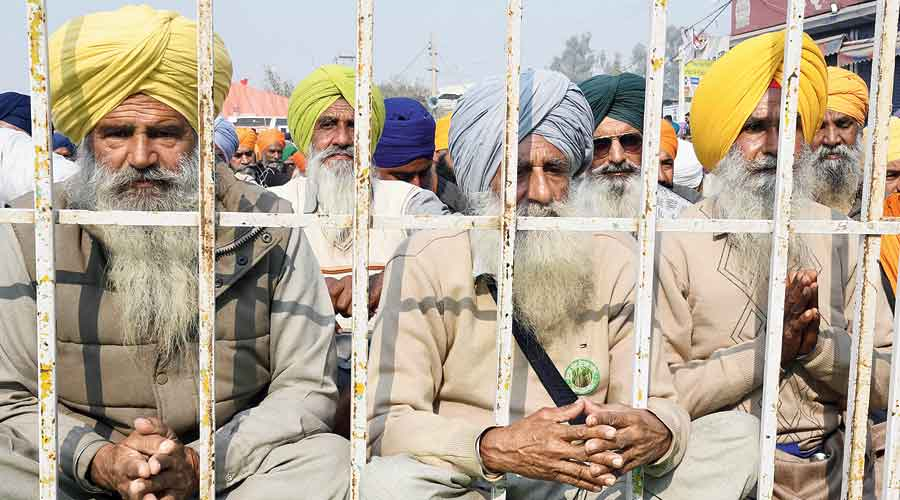 The participating farmer bodies were asked to give their views on the three Acts, on Thursday.