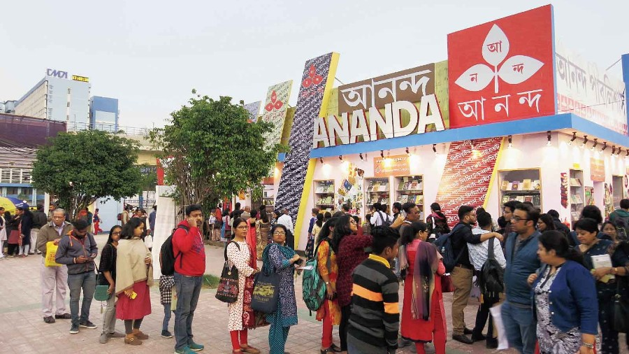 International Kolkata Book Fair was held at Central Park for the third time in a row