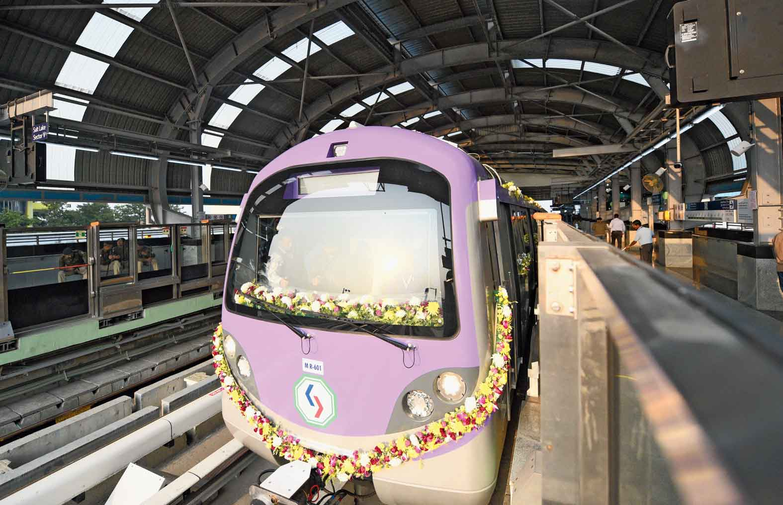 East-West Metro finally took off on February 14