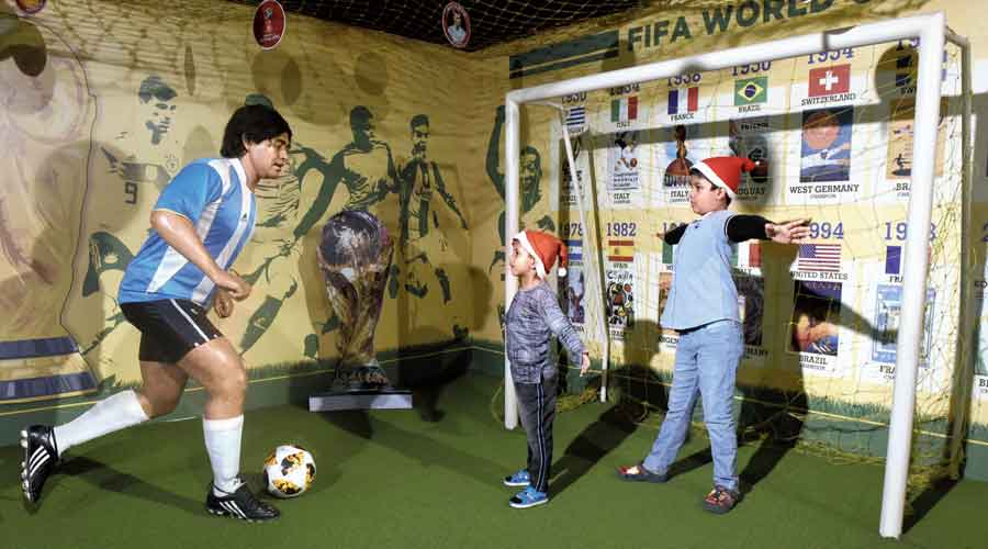 Wax museum, New Town