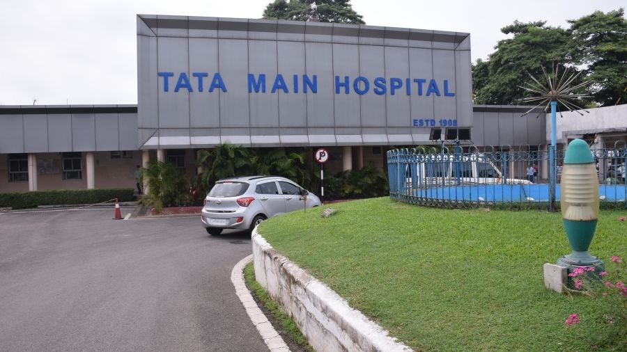 Tata Main Hospital, where the samples of the UK returnees were tested for Covid-19, in Bistupur , Jamshedpur, in September.