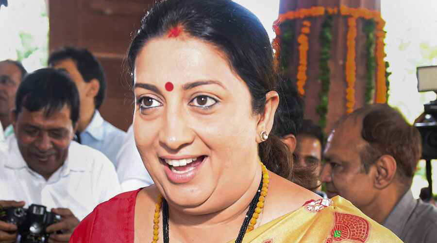 The people of UP know how much work BJP has done on the protection of cows, said Irani.