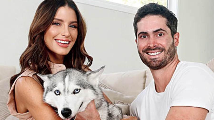 Erin with her boyfriend — Australian cricketer Ben Cutting