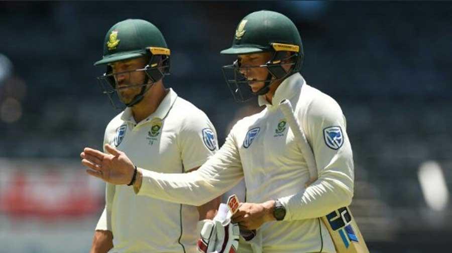 Rassie van der Dussen and Faf du Plessis