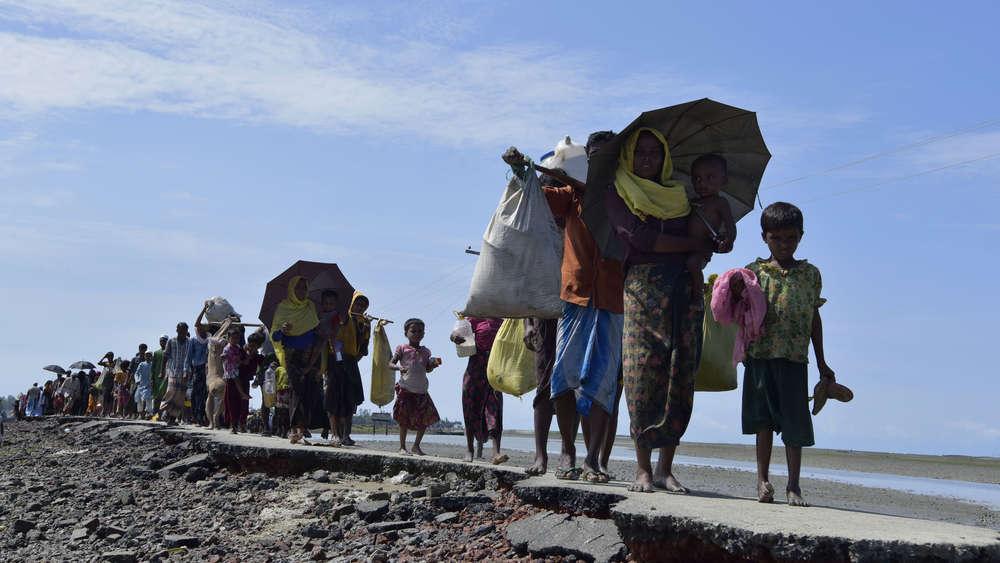 Rohingya refugees in Cox's Bazar, Bangladesh. (Representational image)