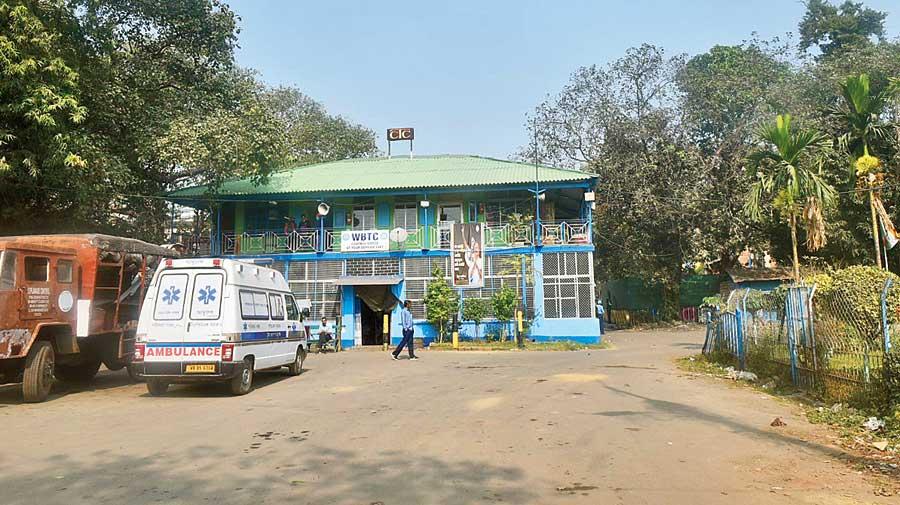 The Calcutta Tramways office at Esplanade  tram depot.